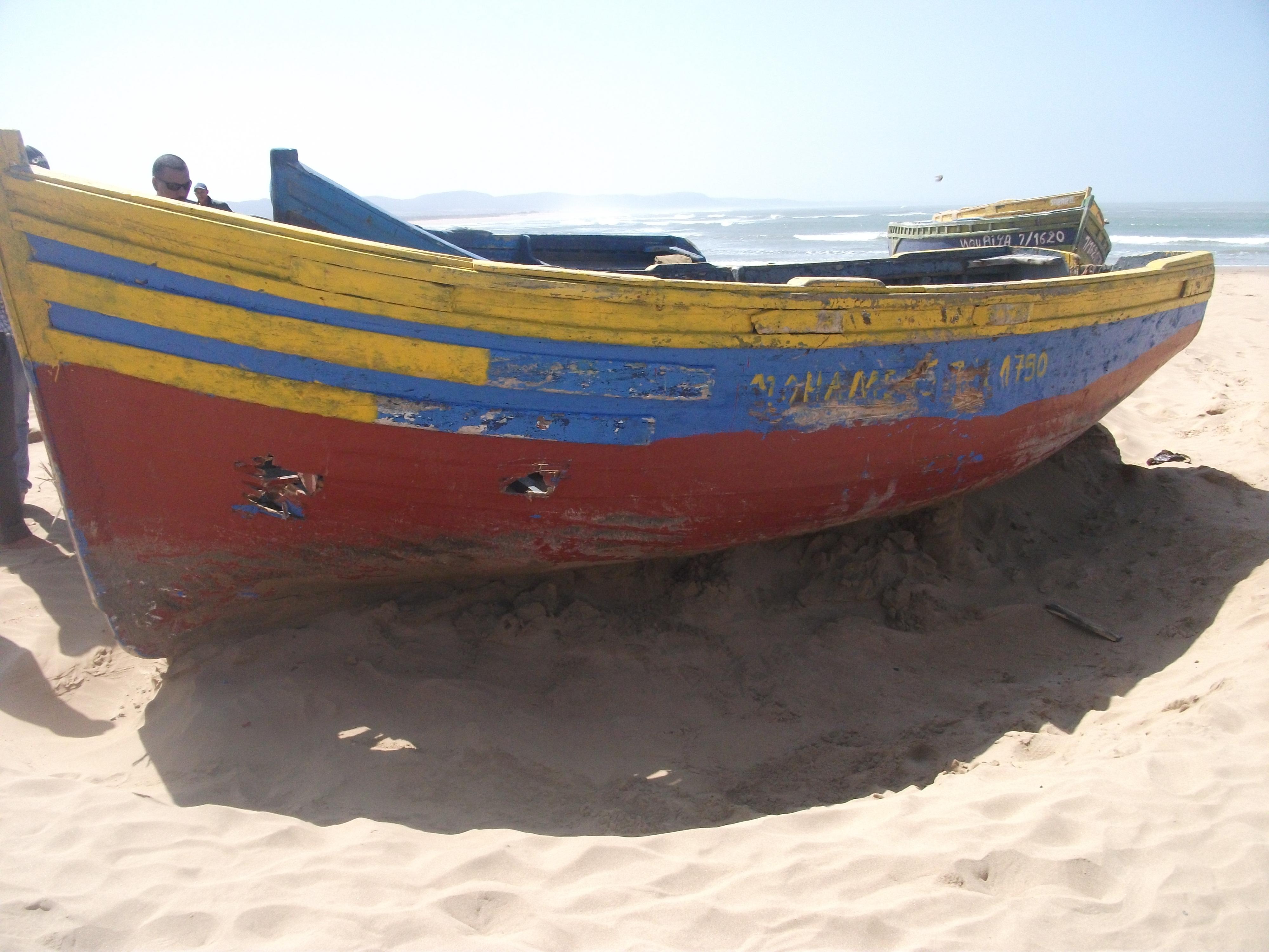 إعتداء على قوارب جمع الطحالب الصويرة12