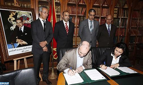 اتفاق-تعاون-بين-المعهد-العالي-للدراسات-البحرية-والمعهد-الجامعي للتكنولوجيا ببريست