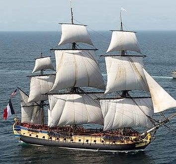 """سفينة """"ليرميون"""" الفرنسية"""