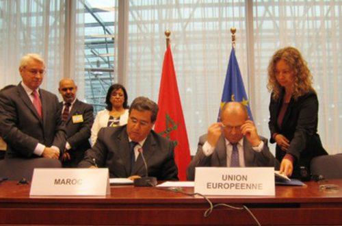 المغرب الإتحاد الأوربي