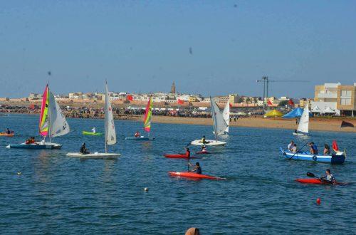 club-nautique-Rabat-plage-Bouregreg-bâteau-à-voile (1)
