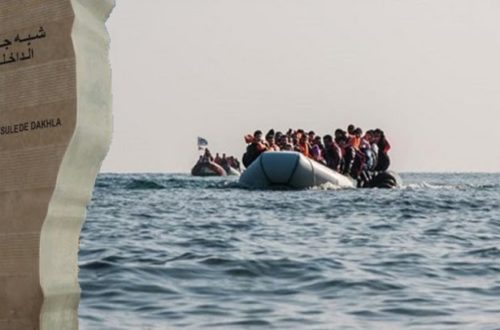 مهاجرون افارقة جنوب الصحراء على متن قارب للهجرة السرية بسواحل الداخلة