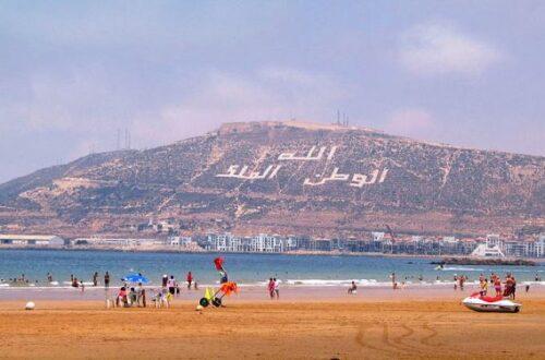 شاطئ-اكادير-1