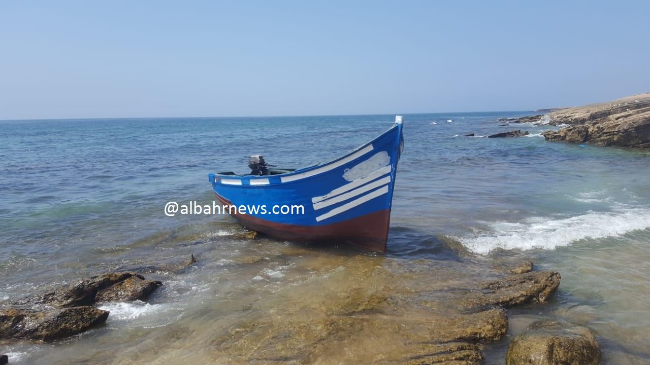 قارب للهجرة السرية جنح بين تيكرت وكاب غير